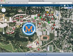 University of Wisconsin - Platteville's Interactive Map